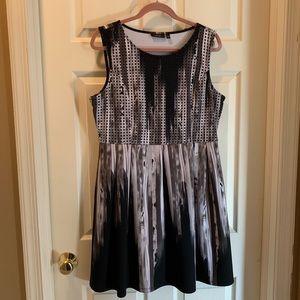Stretch fashion forward dress